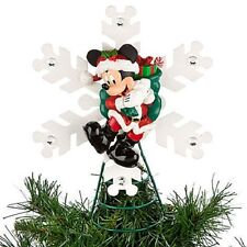 DISNEY PARKS SANTA MICKEY MOUSE CHRISTMAS TREE TOPPER-NEW