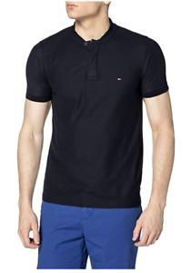 Tommy Hilfiger Herren Baseball Collar Slim Polo Poloshirt Size: M