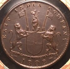 1808 East India Co X Cash Admiral Gardner Shipwreck Coin-Lustrous Details