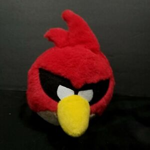 """Angry Birds Red Space  Plush Stuffed Animal Commonwealth 5"""" No Sound"""