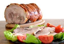 Porchetta Marchigiana trancio Kg. 1,00 sottovuoto,sale pepe spezie no conservant