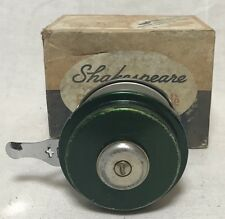 VINTAGE SHAKESPEARE OK AUTOMATIC FLY ROD REEL WITH ORIGINAL BOX 1822