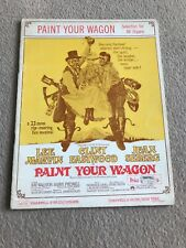 PAINT YOUR WAGON  Organ Music CHAPPELL