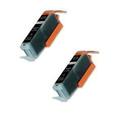 2 BLACK Replacement Ink + Chip for Canon 271 XL MG5720 MG5721 MG5722 MG6820