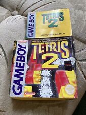 Tetris 2 Box And Instruction Booklet - No Game - Gameboy
