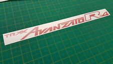 Daihatsu Cuore Mira TR xx Avanzato R4 rear bumper replacement decal sticker