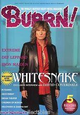 Burrn! Heavy Metal Magazine May 2008 Japan Whitesnake Def Leppard Dream Theater