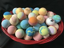 Bath Bombs Fizzies Lot of 4 Assorted 2 1/2 - 3 oz Lush & Luxurious Fragrant