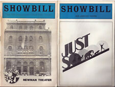 Showbill 1985 MARRIAGE OF BETTE AND BOO Olympia Dukakis / JUST SO