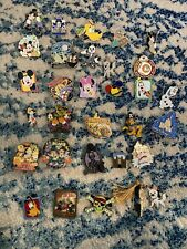 Disney World 36 Pin Collection Mickey Mouse Minnie Pluto Chip Dale Not So Scary