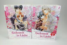Gefesselt in Liebe - Manga Bände 1 und 2  komplett - 1. Auflage - Set 2 ###
