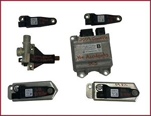 2005-2011 Crown Victoria Marquis Complete SRS Impact Crash Sensor W/ Module Set