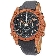 Bulova Precisionist Chronograph Quartz Black Dial Men's Watch 97B188