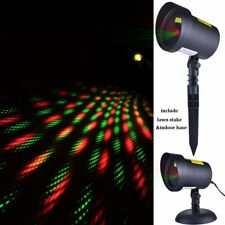Christmas Decorations Lights Projector Outdoor (Green & red Stars)