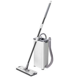 Flat Mop Hands-free Washing Machine Dual Use Standard Cleaning bucket