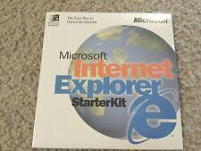 Microsoft Internet Explorer Starter Kit for Windows 95 - NEW