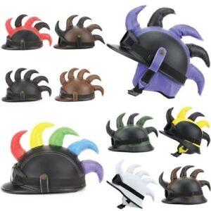 Helmet Hat Horns Spikes Mohawk Punk Goggles LoudElephant Festival Novelty