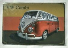VW Combi Van - Tin Retro/Vintage Look Sign Brand New