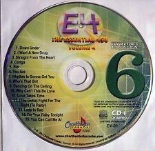 Chartbuster Essentials Karaoke - Volume 4 CDG - Disc 6