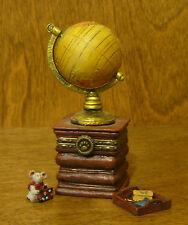 "Boyds Treasure Box #392168 Sebastian'S World, 2 Ed Nib From Retail Store 3.5"""
