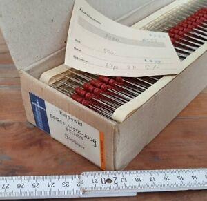 500x SIEMENS KARBOWID WIDERSTÄNDE B51264-A4202-J009 2 kΩ +/- 5%  NOS