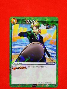 01/12 RARE carte carddass One Piece Card Game HOLO PRISM JAPAN SANJI VINSMOKE