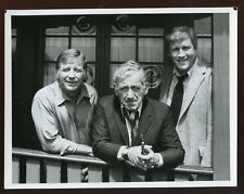 Original Mickey Mantle New York Yankees & James Whitmore Actor 7 X 9 Photo