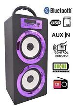 Dynasonic altavoz Bluetooth portatil 10W reproductor MP3 Inalámbrico Portáti...