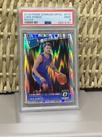 2018 Donruss Optic Shock Luka Doncic #177 PSA 9 Mint RC 🔥🔥🔥MVP?🔥🔥🔥