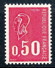 STAMP / TIMBRE FRANCE NEUF N° 1664c ** MARIANNE DE BECQUET 3 BANDES DE PHOSPHORE