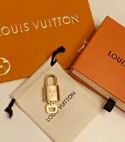LOUIS VUITTON Authentic  LOCK & KEY Polished  LV Box, Gift Bag, & Dust Pouch!