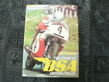 BSA THE STORY OF BSA MOTOR CYCLES BOB HOLLIDAY JEFF SMITH,J-12,G-14,M24,M20,BANT