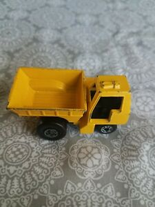 Vintage Matchbox Superfast No. 26 Yellow Site Dumper 1976 Lesney VG