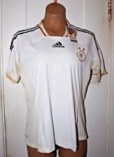ADIDAS Climacool DFB GERMANY Home Soccer Jersey Shirt Top NWT Vintage Medium