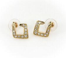 Womens Contemporary Stud Earrings Gold Horse & Western Jewellery Jewelry Ladies
