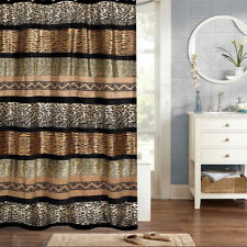 "Popular Bath Gazelle Animal Print Bathroom Shower Curtain 70""x72"""