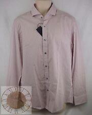 Hugo Boss Mens Striped Button Down Shirt Size L (50253370 619), NWT