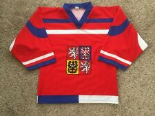 1990's Czech Republic Team Sz XS Mens Jaromir Jagr #68 Graphic Hockey Jersey