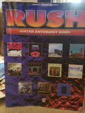 Rush Guitar Anthology Series Authentic Guitar-Tab Book Tom Sawyer Limelight
