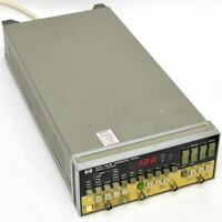 Hewlett Packard 8112A Pulse Generator 50MHz with HP-IB AS-IS Rejected Cal.