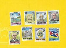 """SEYCHELLEN 1976 - postfrisch**MNH - MiNr. 348-355 """"Tag der Unabhängigkeit"""""""