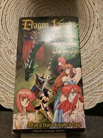 Dragon Knight Japanese Anime VHS Video Tape 1991 English Dubbed ADV Films Manga