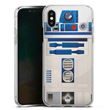 Apple iPhone Xs Silikon Hülle Case - R2D2 Closeup