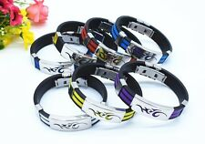 mens ladies dragon tribal sports wristband bracelet chain buckle new gift BL21