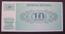 Slovenie - 10 Tolarjev UNC type 1990-92 Pick 4