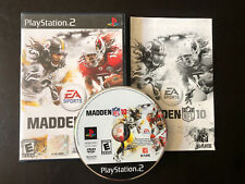 EA Sports Madden NFL 10 PlayStation 2 PS2 Football Video Game Complete Works