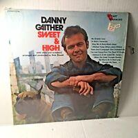 Danny Gaither Sweet & High Vinyl Southern Gospel LP Heart Warming Records