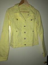 edc Damen Jeansjacke, soft yellow