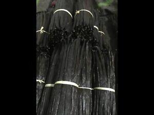 "10 Tahitian vanilla beans grade A 4-6"" free shipping"