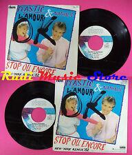 LP 45 7'' PLASTIC BERTRAND  ET NATHALIE L'amour ok Stop ou encore no cd mc dvd*